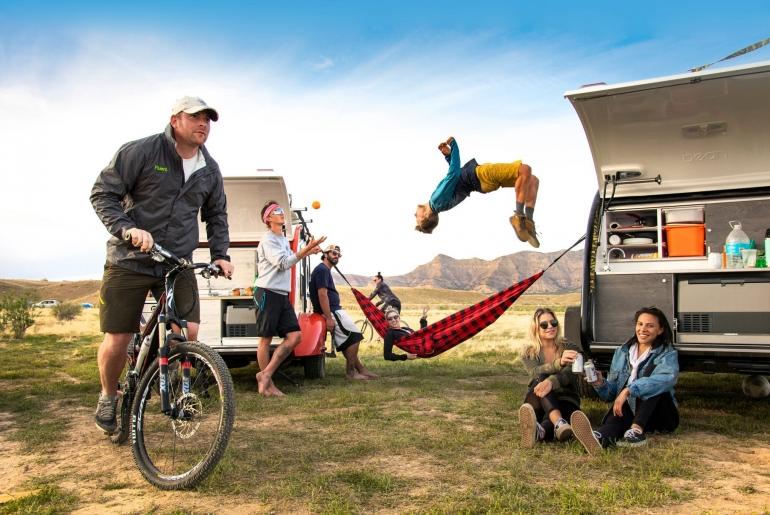 kampeertrends 2021 kamperen opkomst milennials shuttestock