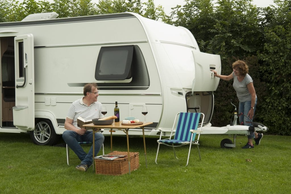 Caravan E-Trailer
