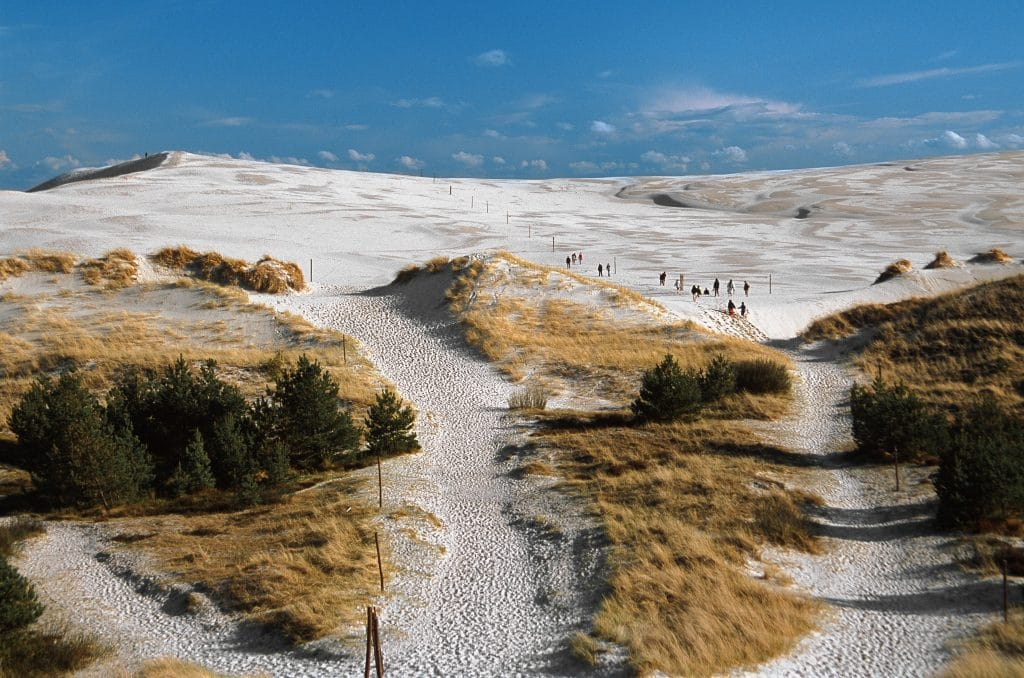 Pommeren_Slowinski Nationaal Park_wandelende duinen