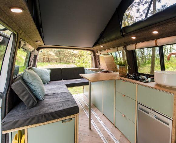 Camp-r VW Transporter interieur