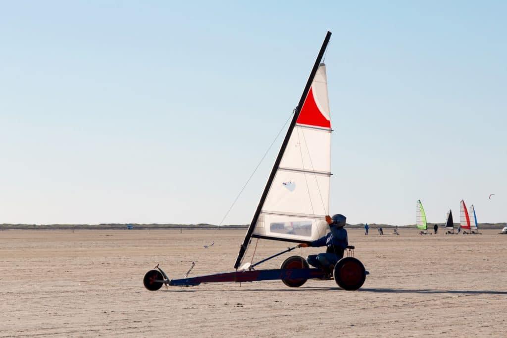 Zuid-Jutland_Beach,Sailing,On,The,Island,Roemoe,Denmark
