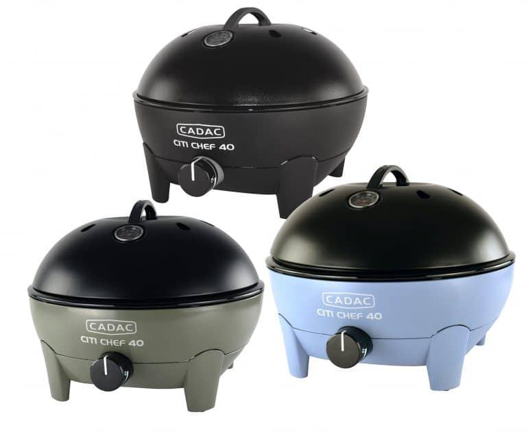 De barbecue Cadac Citi Chef is er in drie kleuren