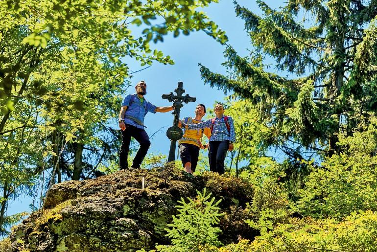 In het Beierse Woud valt er genoeg te klimmen.